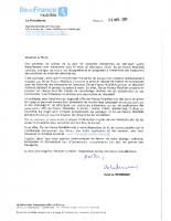 IDFM_Courrier covoiturage grèves