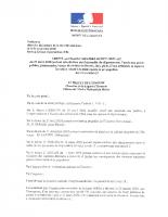 Arrêté modificatif 427 du 23 mars 2020 portant interdiction parcs-1