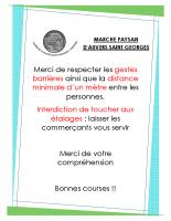 Affiche MARCHE PAYSAN