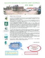 Bulletin ETE 2020