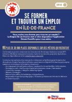 se former et trouver un emploi en île-de-france