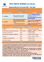 Newsletter Pôle emploi 91 – mai-juin 2021