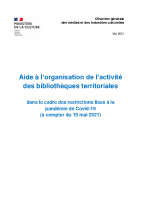 Bibliotheques -Recommandations sanitaires – mai 2021-vdef-validee-CIC