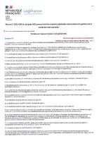 Art 47-1 du décret n°2021-699 du 1er juin 2021 modifié par décret n°2021-955 du 19 juillet 2021 – Art 1
